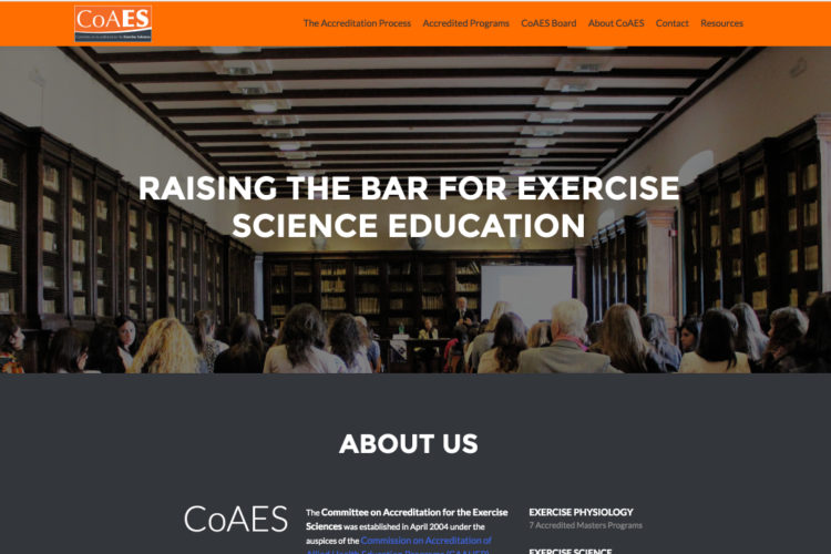 New CoAES Website